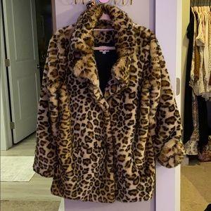 Show Me Your Mumu Leopard Coat